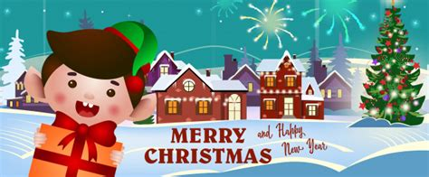 Compatible with cricut and silhouette the free download includes (1).zip file with: Merry christmas and happy new year banner with cheerful ...