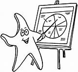 Starfish Coloring Teacher Pages Printable Supercoloring Shells Categories Coloring2print sketch template