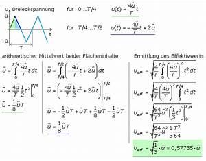 Formfaktor Berechnen : kenndaten periodischer signale ~ Themetempest.com Abrechnung