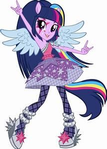 Equestria Girls Rainbow Rocks Twilight Sparkle Vector | My ...