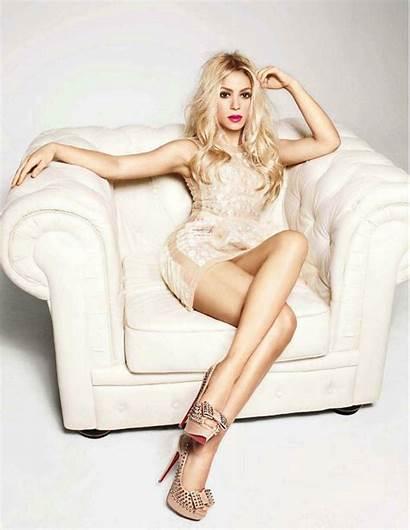 Female Singers Hottest Shakira Alux Legs Photoshoot