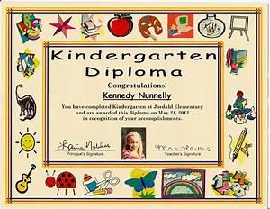kindergarten graduation certificate of 1 certificate pre With pre k award certificate templates