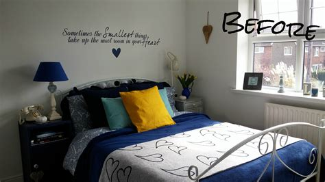 Bedroom Makeover On A Budget With Before And After Photos