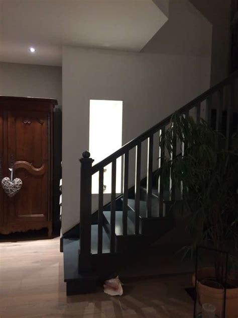 peindre un escalier en gris peindre un escalier l atelier des couleurs