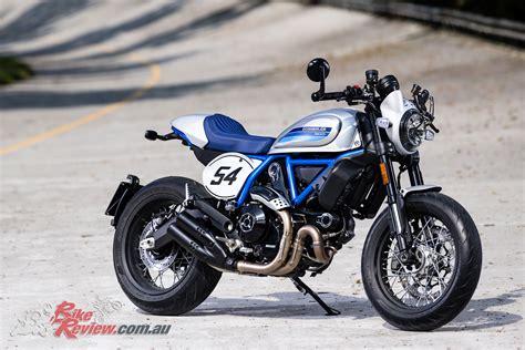 Review Ducati Scrambler Cafe Racer model update 2019 ducati scramblers bike review