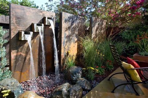 how to make a water wall feature yard crashers water feature wonderland yard crashers diy