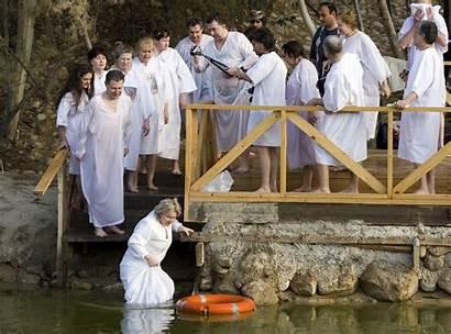 Jesus Baptism Tourist Jordan River