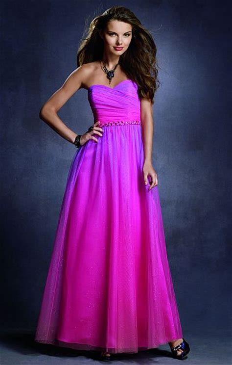 twilight ombre glitter prom dress   alfred angelo