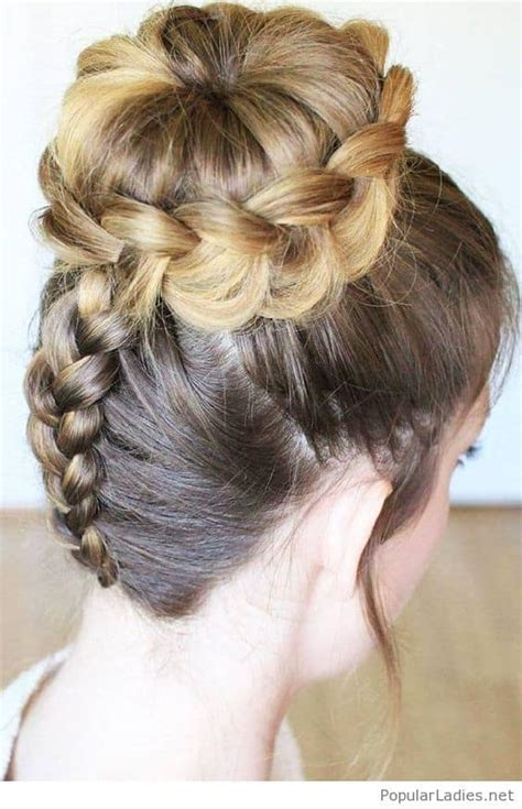 wedding bun hairstyle 10 best photos cute wedding ideas