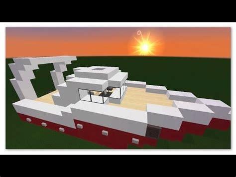 canapé minecraft minecraft tuto comment faire un bateau