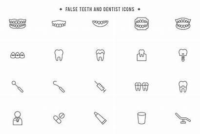Dentist Vector Teeth False Vectors System
