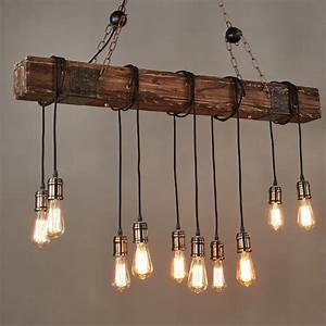 Farmhouse style dark distressed wood beam large linear