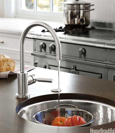 dornbracht tara kitchen faucet kitchen island prep sink design ideas