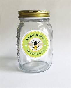 beekeeping 12 honey jar labels beekeeper gift personalized With custom honey jar labels