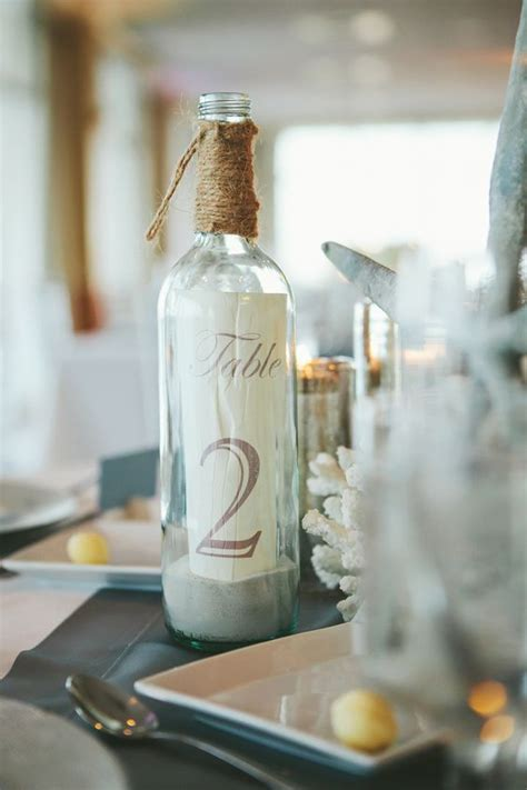 wedding table number ideas 35 most appealing wedding table number ideas everafterguide