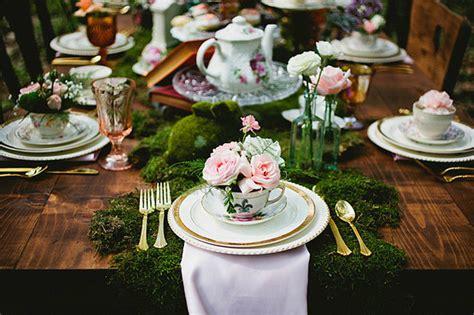 Im Wunderland Tisch by Rustikale Country Hochzeit Ideen F 252 R Im Wunderland