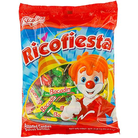 Ricolino Ricofiesta Pinata Candy Mix: 3.3LB Bag | Candy ...