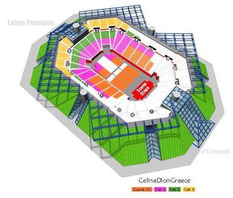 dion concerts 224 bercy plan de la salle