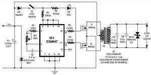 100w Inverter Circuit With Irf540