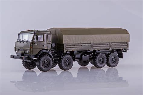 kamaz 6350 8x8 mustang russian truck 101609 1 43 avtoistoria