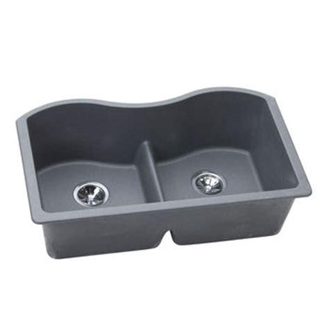 elkay elgulb3322gy0 harmony e granite undermount sink
