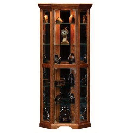 curio cabinets walmart eagle industries oak ridge corner curio cabinet walmart