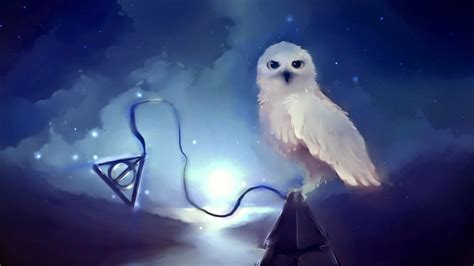 Harry Potter Wallpaper Hedwig Owl by Hogwarts Owl Magic Hedwig Deadly