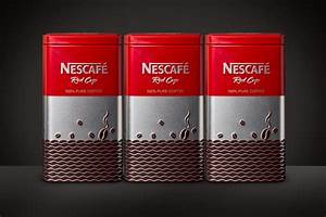 Colour Box Design Nescafe Red Cup Limited Edition On Packaging Of The World