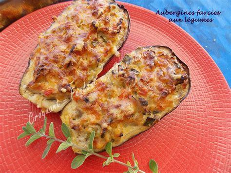 cuisiner l aubergine à la poele aubergines farcies aux légumes croquant fondant gourmand
