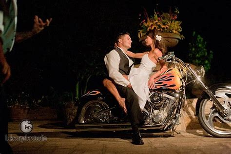 Best 25+ Motorcycle Wedding Pictures Ideas On Pinterest