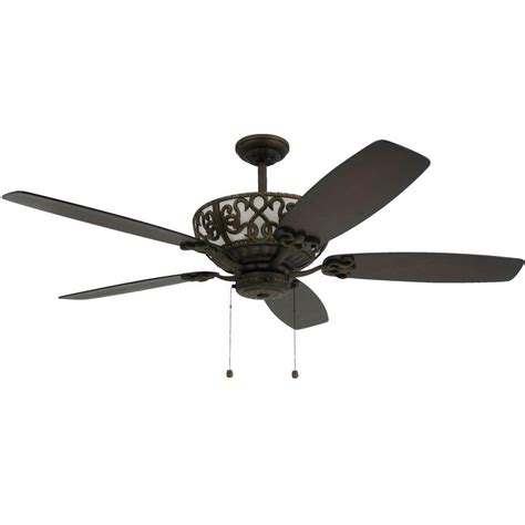 ceiling fan with uplight and troposair excalibur 60 in rubbed bronze uplight ceiling