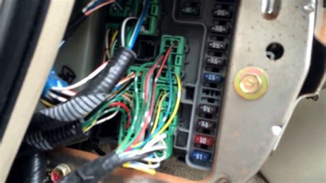 1999 Acura Cl V6 Fuse Box by 2000 Acura Cl Fuse Box Location