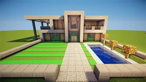 Minecraft Moderne Häuser Bauen by Moderne Villa Bauen Sch 246 N Minecraft Gro 223 Es Modernes Haus