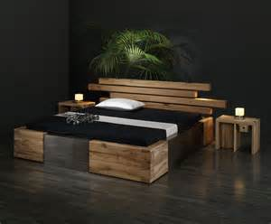 17 best ideas about bett holz on dekoideen schlafzimmer lagerbetten and einrichten - Designer Schlafzimmer Holz