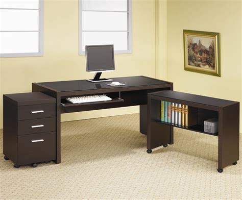 desk l with outlet and organizer coaster skylar l shape computer desk with storage dunk