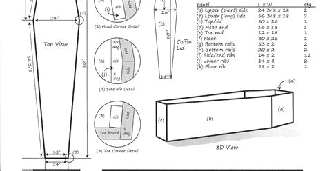 coffin plans woodworking plans sepala