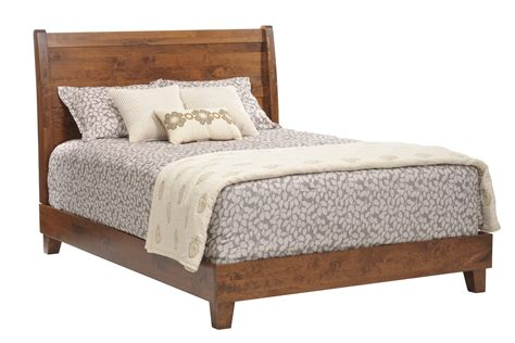 Millcraft The Crossan Bedroom With Sleigh Bed