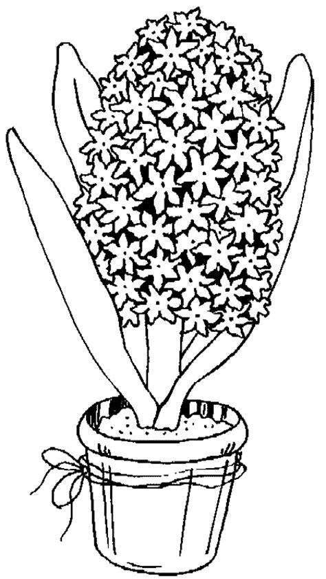 pot de fleur dessin