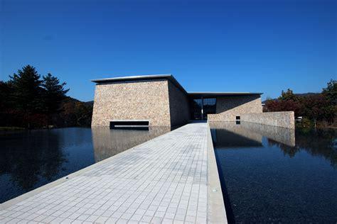 hansol museum  korea tadao ando pinterest korea