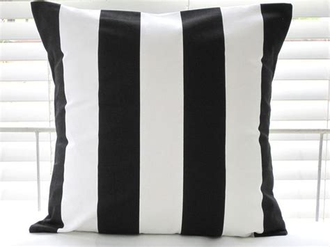 black and white pillows ikea ikea vargyllen cushion cover 20x20 black white stripes accent pillow fs new ebay