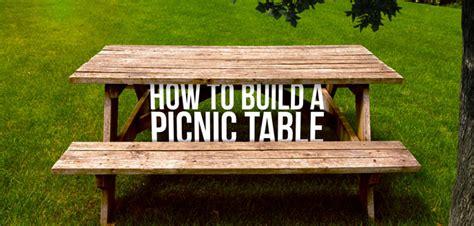 build  diy picnic table budget dumpster