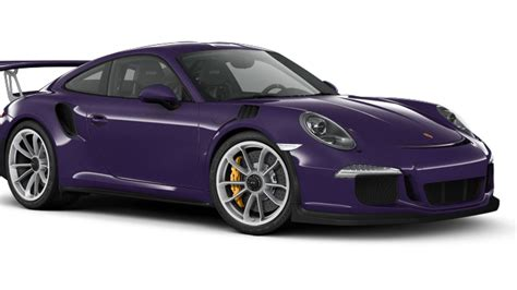 Car Pictures by How You D Option Your 2016 Porsche 911 Gt3 Rs
