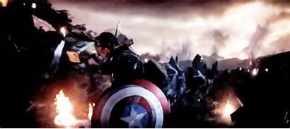 Endgame Avengers Captain America Mjolnir Thanos Freakin