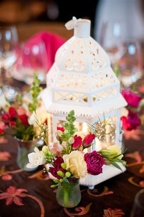 diy wedding reception centerpiece with pink wedding