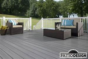 Terrasse En Anglais : patio design terrasse en composite fiberon ~ Preciouscoupons.com Idées de Décoration