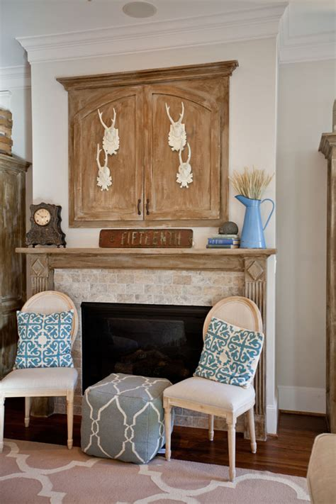 diy tips and tricks styling a fireplace cedar hill farmhouse