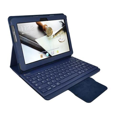 ventilateur de bureau usb heden housse business bleue pour samsung galaxy tab 10 1 2