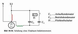 Kondensatormotor Berechnen : elektronik kurs erzeugung eines drehfeldes im einphasenbetrieb ~ Themetempest.com Abrechnung