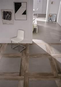 carrelage imitation parquet et imitation beton cire sols With beton imitation parquet