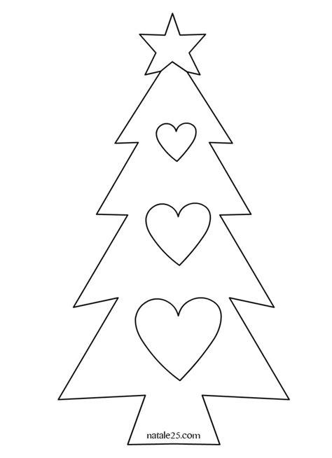 immagini  alberi  natale da stampare disegni